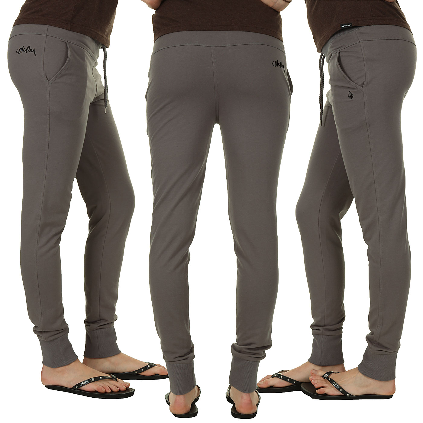 Unique Womens Red OR Gray Jogger Pants WHOLESALE