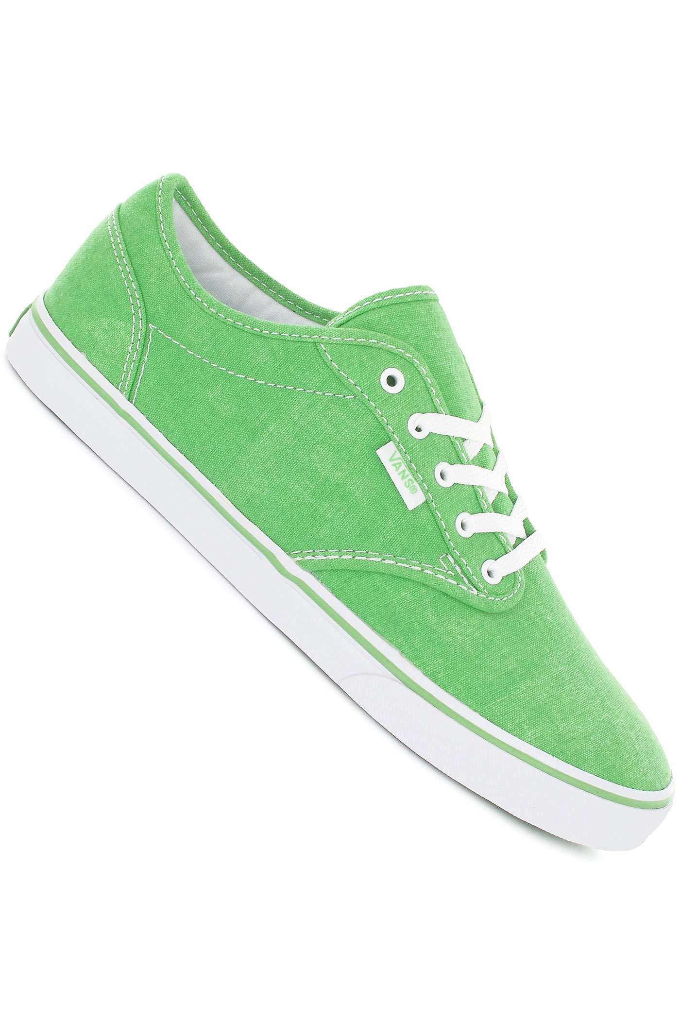 09b7e3cb104a7b shoes and Sneakers Vans Atwood Low Canvas Shoe women neon greenVans For  Girls Green