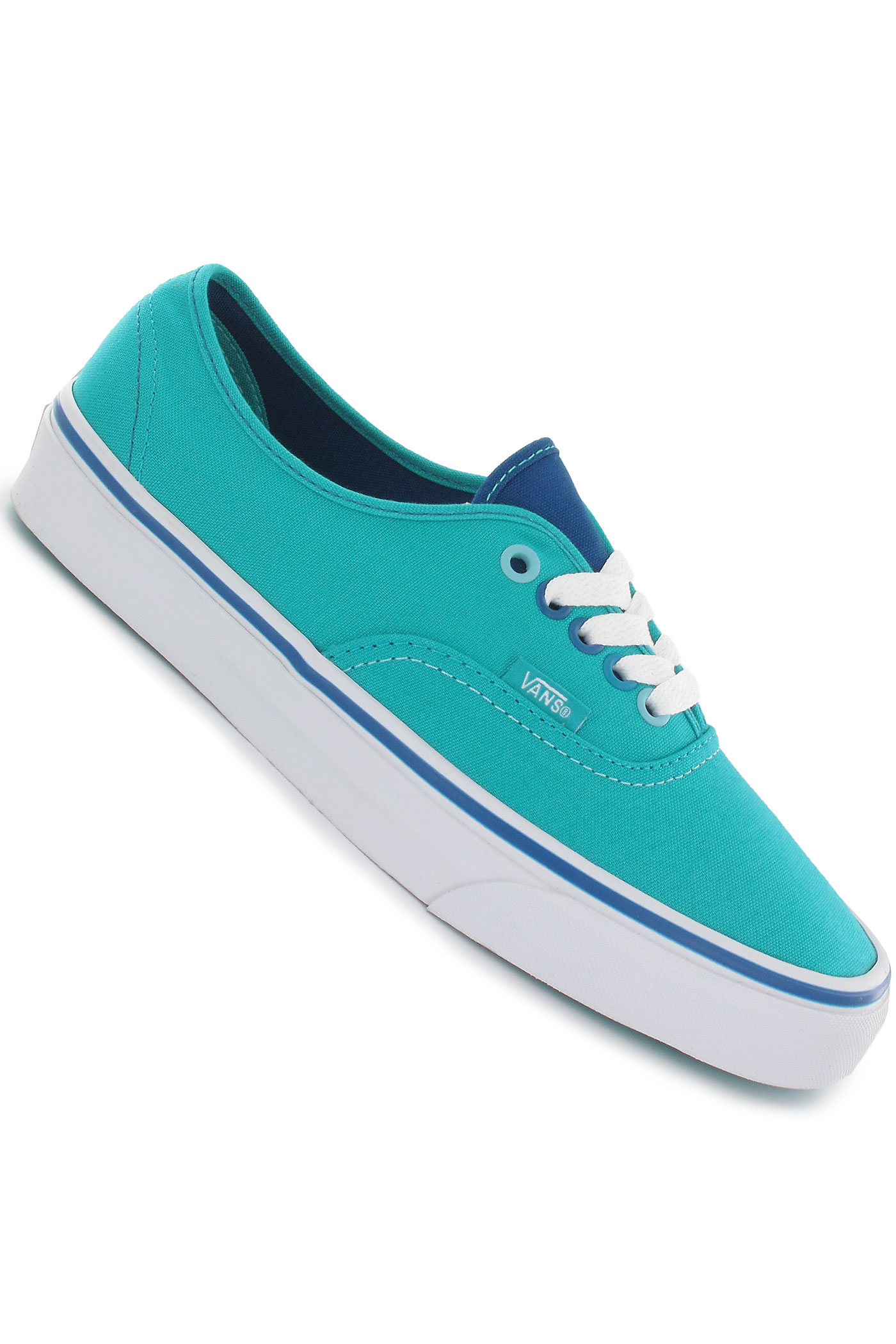 Vans Authentic Shoe girls (peacock blue turkish sea) buy at ...