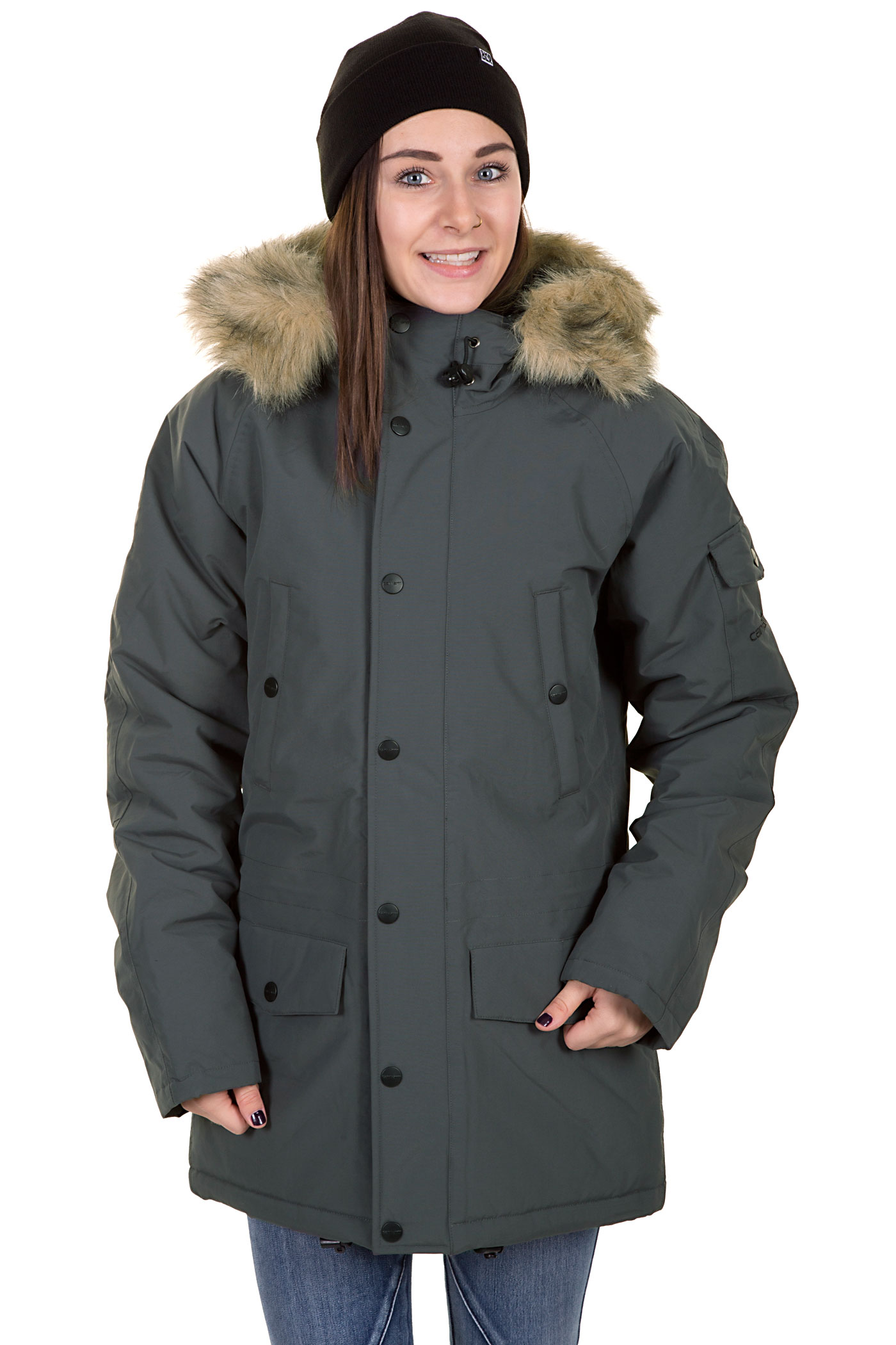 carhartt anchorage parka jacket women blacksmith buy at. Black Bedroom Furniture Sets. Home Design Ideas