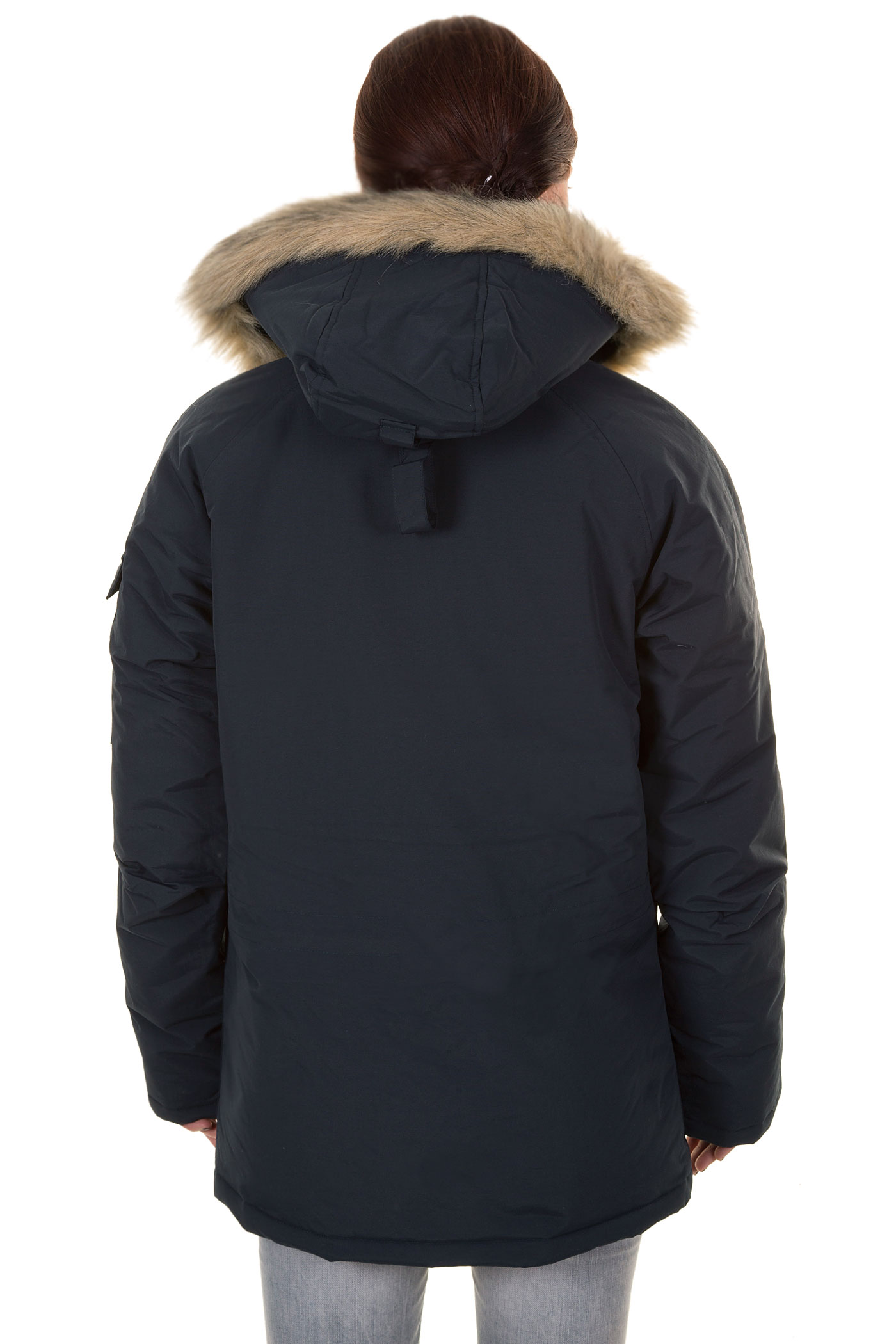 carhartt anchorage parka jacket women navy buy at. Black Bedroom Furniture Sets. Home Design Ideas