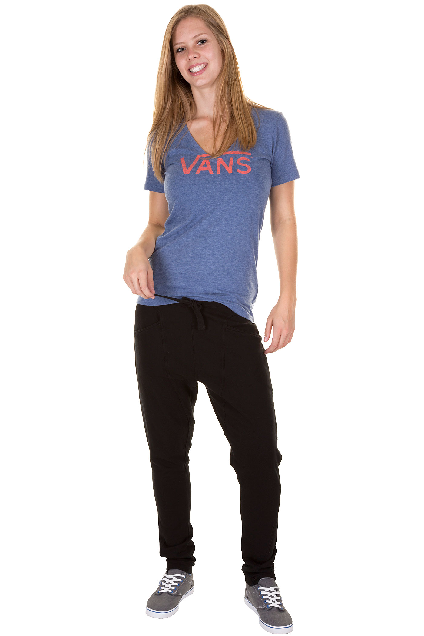 Fantastic  Women Clothing Black Blue Joggers Winter Sweatpants From Reliable