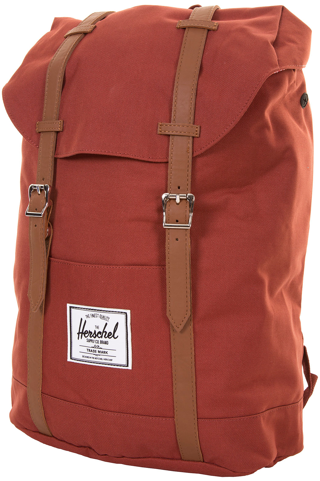 herschel retreat backpack rust buy at skatedeluxe. Black Bedroom Furniture Sets. Home Design Ideas