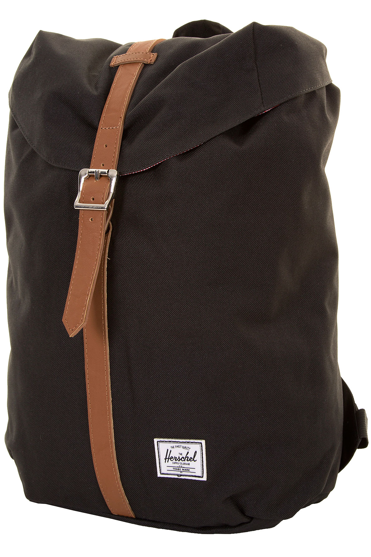 herschel post backpack 14 5l black buy at skatedeluxe. Black Bedroom Furniture Sets. Home Design Ideas