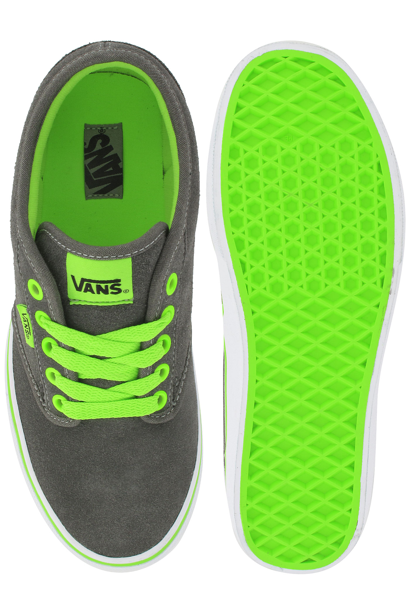 New  Shoes And Sneakers Vans Authentic Leather Shoe Women Neon Pink