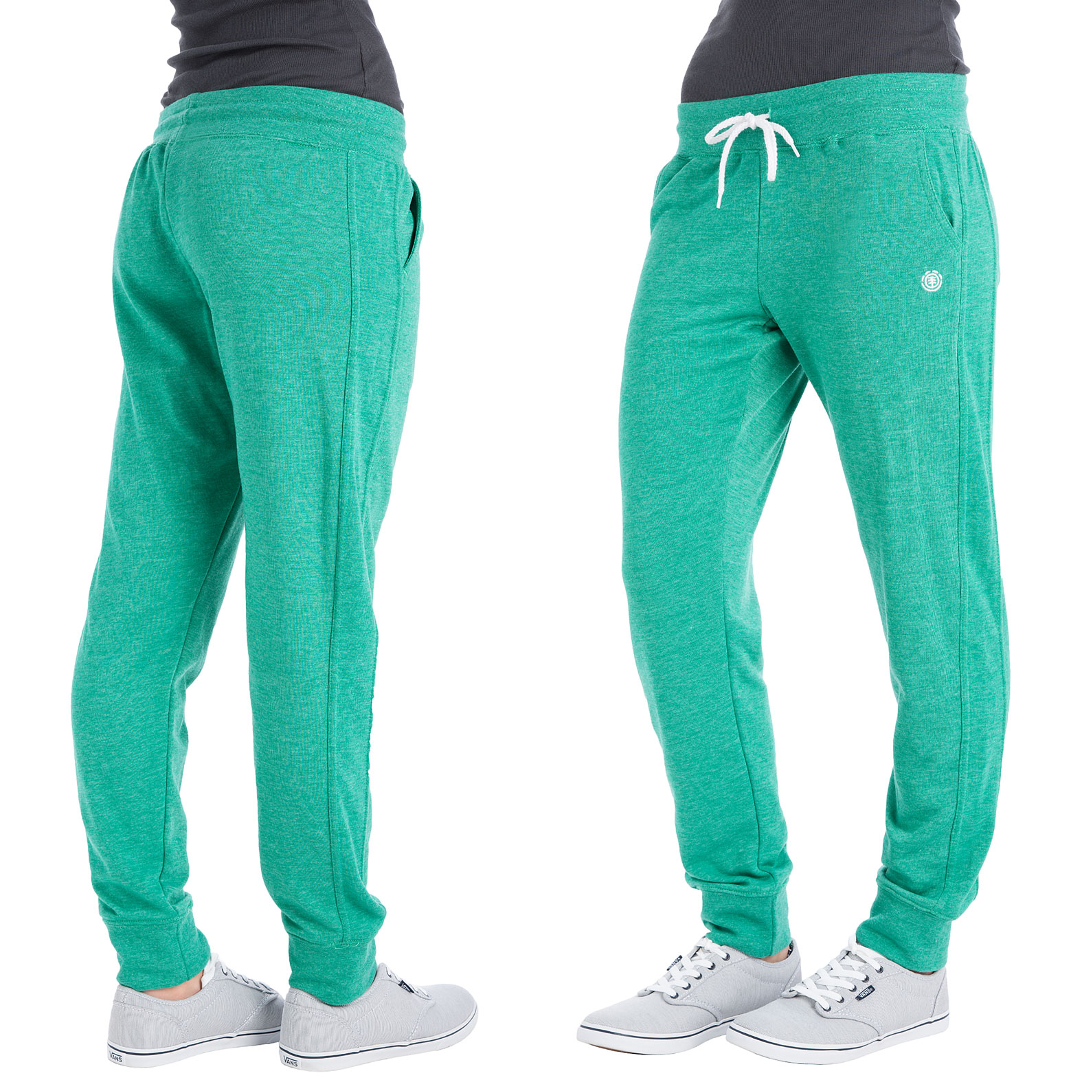 Simple Sweet Pants Green Slimfit Joggers In Green For Men  Lyst