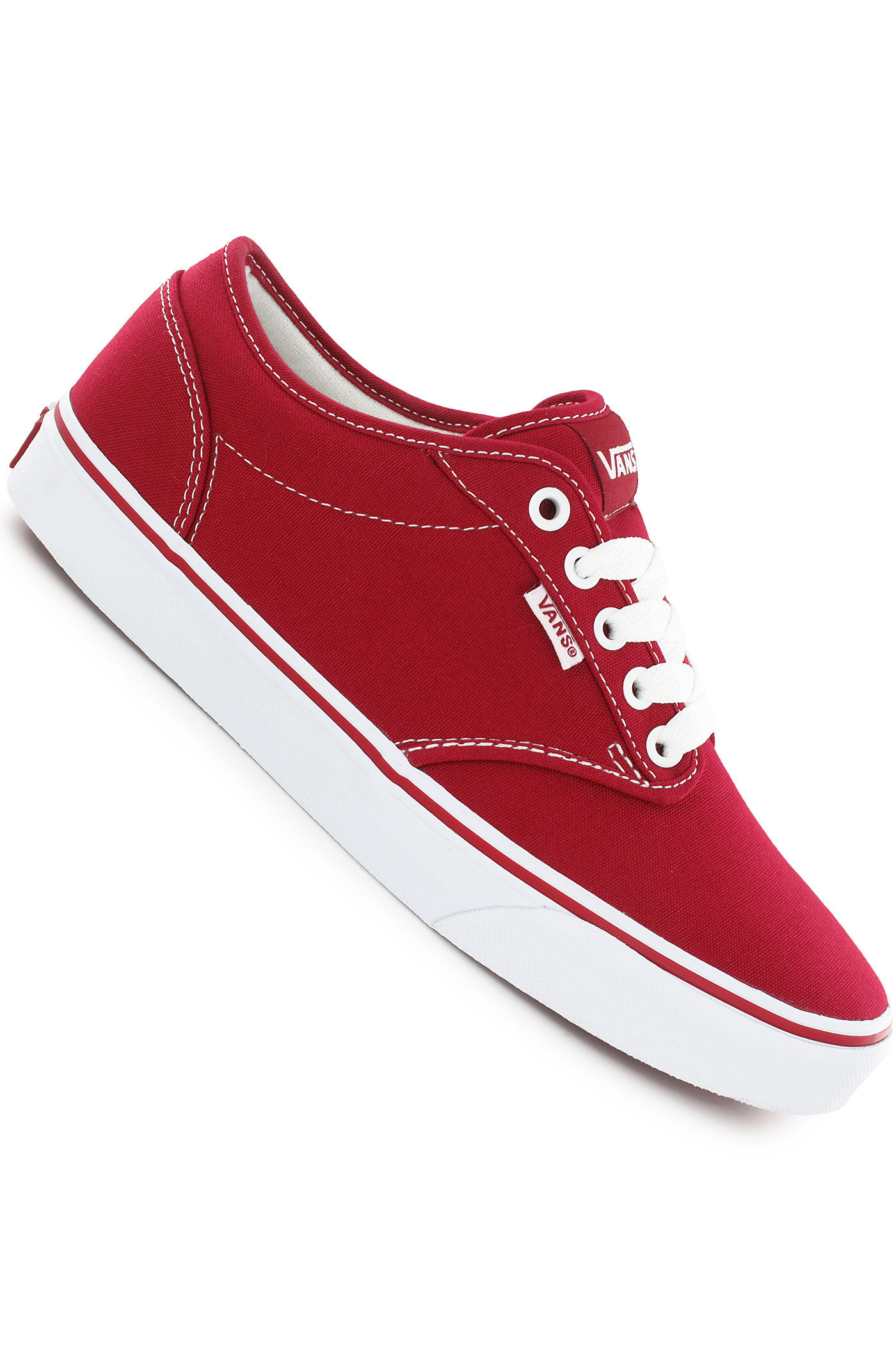 vans atwood canvas shoe chili pepper white buy at