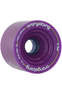 Orangatang In Heat 75mm 83A Rollen 4er Pack  (purple)