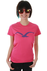 Cleptomanicx Möwe T-Shirt girls (magenta)