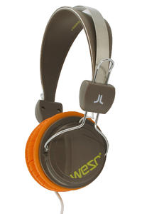 WeSC Bongo Premium Headphones (chocolate brown)