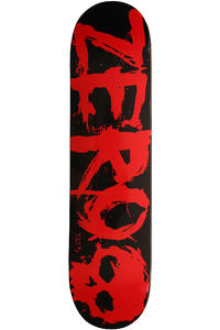 Zero Team Blood 7.625&quot; Deck (black red)
