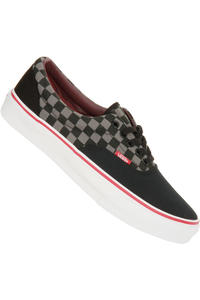 Vans Era Checkerboard Schuh (black pewter chili)