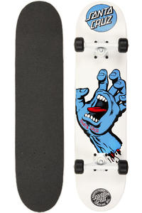 Santa Cruz Screaming Hand 7.5&quot; Complete-Board