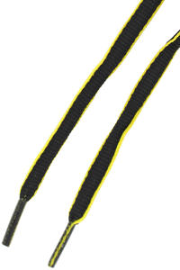 Mr. Lacy Slimmies Schnrsenkel (black yellow)