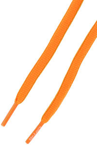 Mr. Lacy Slimmies Laces (bright orange neon lime)