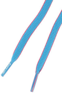 Mr. Lacy Slimmies Laces (mellow blue neon pink)