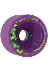 Orangatang Durian 75mm 83A Wheel 4er Pack  (purple)