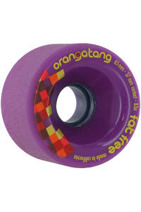 Orangatang Fat Free 65mm 83A Wheel 4er Pack  (purple)