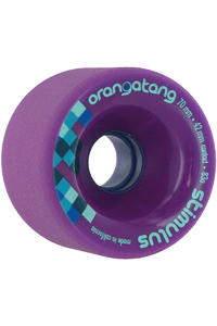 Orangatang Stimulus 70mm 83A Rollen 4er Pack  (purple)