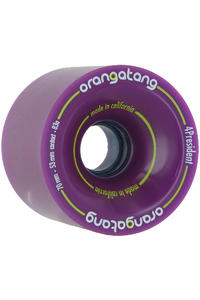 Orangatang 4President 70mm 83A Rollen 4er Pack  (purple)