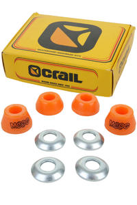 Crail 85a Moog Bushings 2er Pack inkl. Washer  (orange)