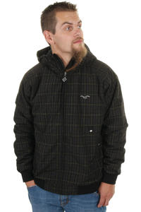 Cleptomanicx Polarzipper Pinstripe 09 Jacke (black)