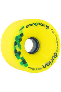 Orangatang Durian 75mm 86A Wheel 4er Pack  (yellow)