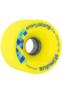 Orangatang Stimulus 70mm 86A Wheel 4er Pack  (yellow)