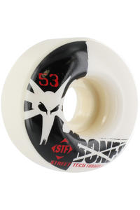 Bones STF-Standard 53mm Wheel 4er Pack  (white)