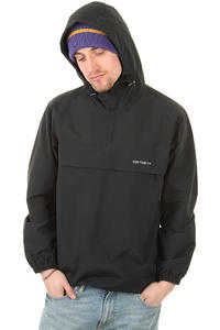 Carhartt Windbreaker Jacke (black broken white)