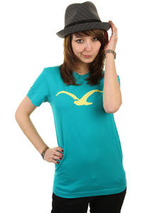 Cleptomanicx Möwe T-Shirt girls (jade)