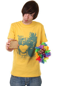 Cleptomanicx Toast Hawaii T-Shirt (sunflower)
