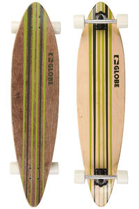 Globe Pinner 41.25&quot; (105cm) Komplett-Longboard (green white)