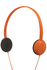 Nixon Whip Headphones (orange)