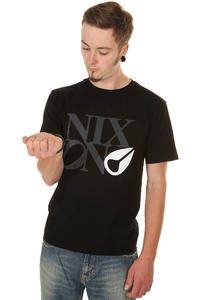 Nixon Philly Too T-Shirt (black white)