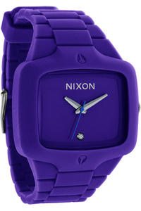Nixon The Rubber Player Uhr (purple)