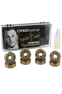 FKD Brandon Biebel Pro ABEC 7 Kugellager (gold)