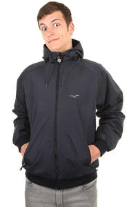 Cleptomanicx Burner Night Camou Jacket (navy)
