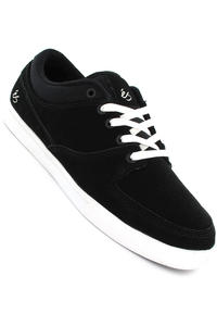éS  La Brea Suede Canvas Shoe (black white)