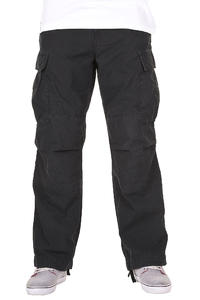 Carhartt Cargo Pant Columbia Hose (black stone washed)