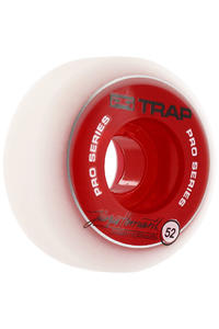 Trap Skateboards Dual Duro Pro Jrgen 52mm Rollen 4er Pack  (red)