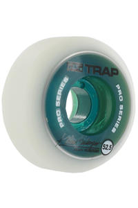 Trap Skateboards Dual Duro Pro Kilian 52.5mm Rollen 4er Pack  (green)