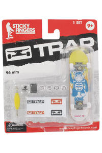 "Trap Skateboards Sticky Fingers ""Boneless"" Fingerboard"