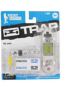"Trap Skateboards Sticky Fingers ""Game Boy"" Fingerboard"