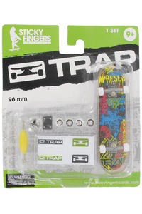 "Trap Skateboards Sticky Fingers ""Sticker"" Fingerboard"