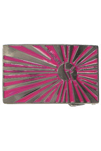Lowlife Star Grtel-Schnalle (gunmetal hot pink)