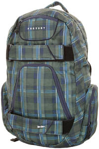 Forvert New Luke Backpack (green checked)