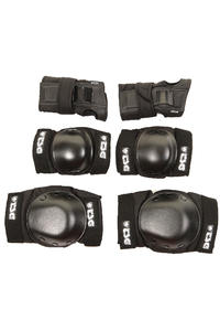 TSG Protection Basic Schtzer-Set (black)