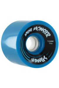 Landyachtz Hawgs Mini Monster 70mm 78a Wheel 4er Pack  (solid blue)