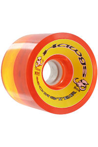 Landyachtz Hawgs Mini Monster 70mm 80a Rollen 4er Pack  (orange)